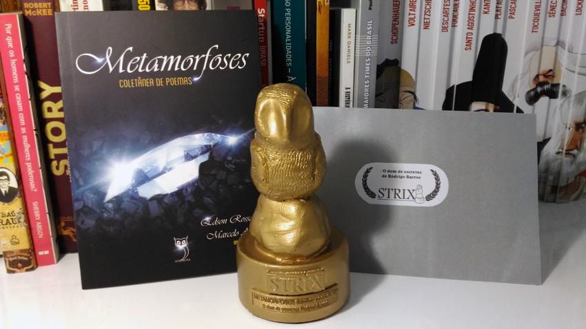 """Poema """"O Dom de Escrever"""" vence Prêmio Strix de Literatura"""